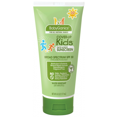 Organic sunblock for kids