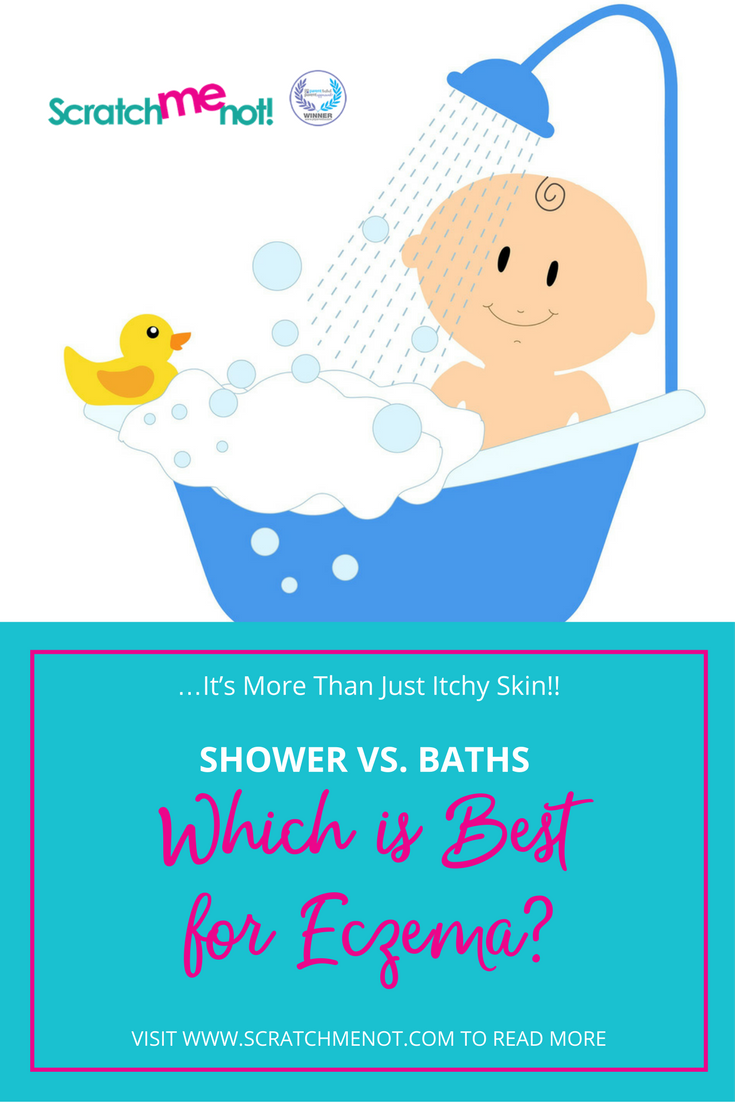 showers vs baths which is best for eczema not just. Black Bedroom Furniture Sets. Home Design Ideas