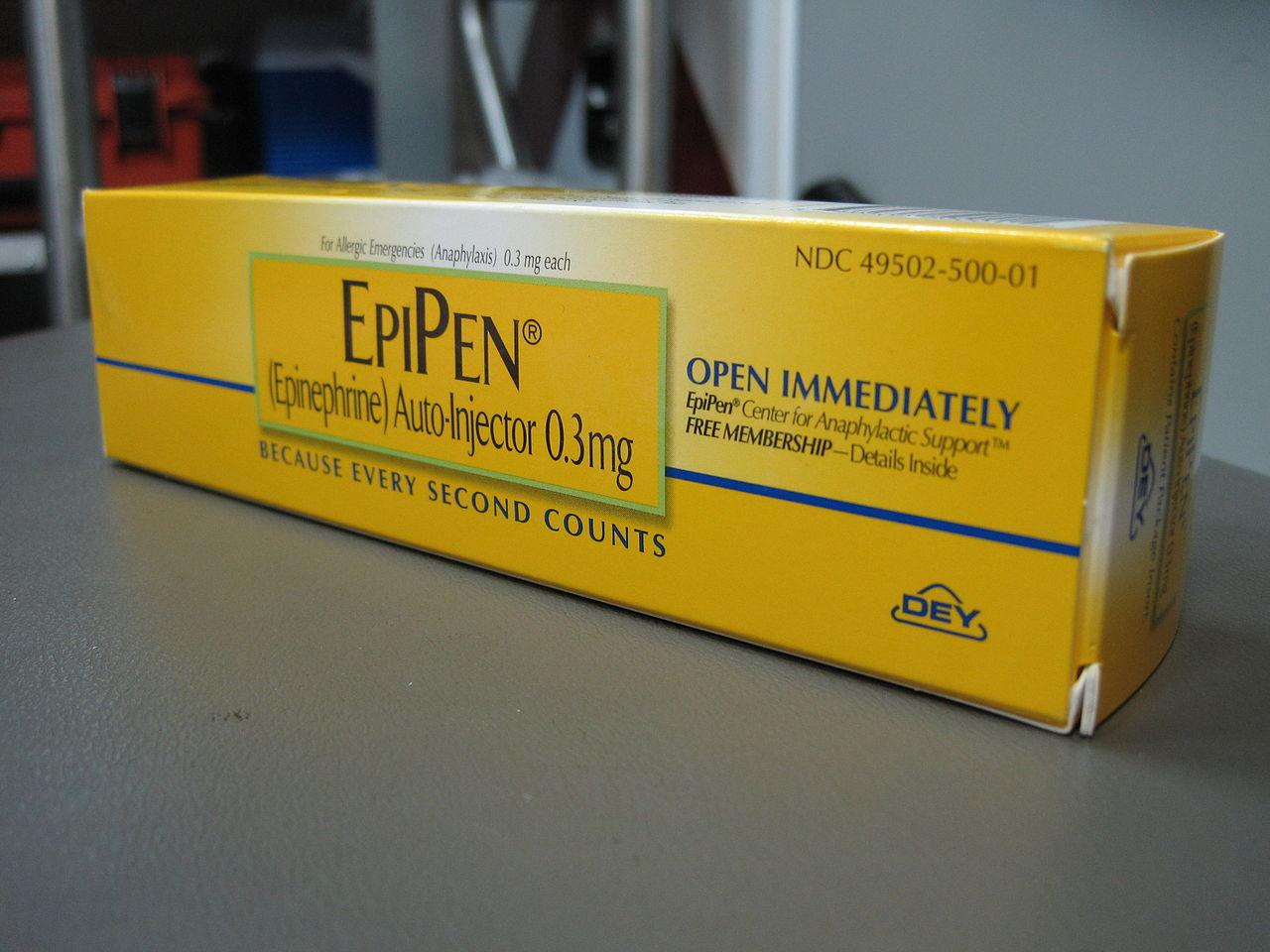 EpiPen In School