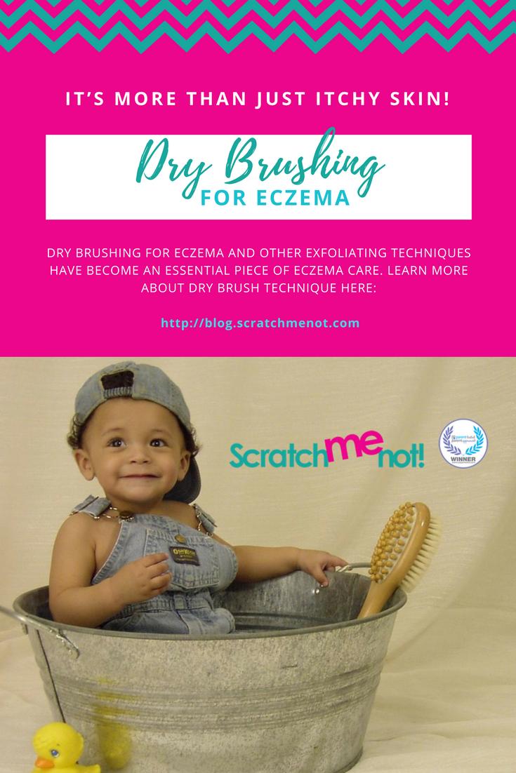 Dry Brushing For Eczema
