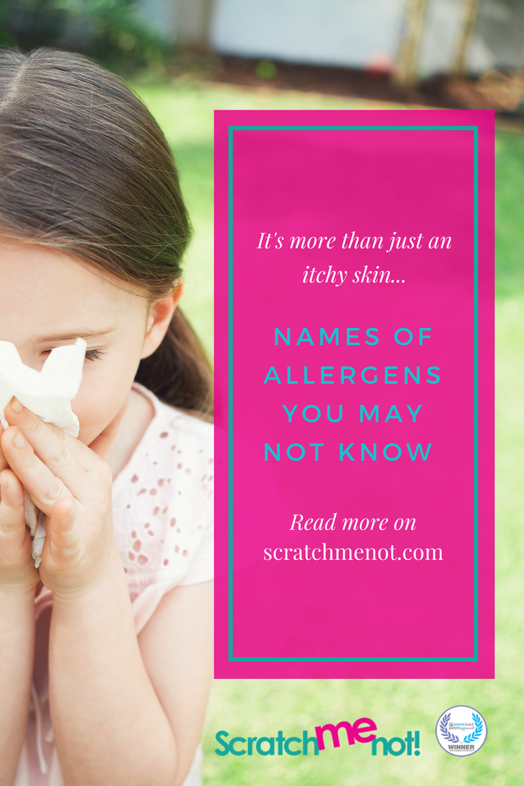 Names Of Allergens You May Not Know