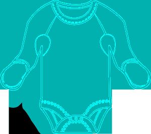 Flip MItten Body Suit